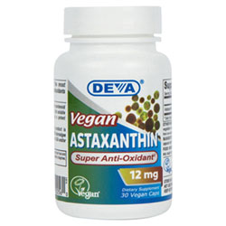 Astaxanthin Super Anti-Oxidant by DEVA - 12mg THUMBNAIL