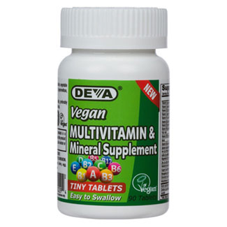 Tiny Tablets Multi-Vitamin and Mineral Supplement by DEVA MAIN