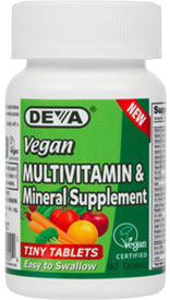 Tiny Tablets Vegan Multi-Vitamin and Mineral Supplement by DEVA_LARGE