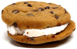 Divvies Chocolate Chip Creamy Cookie Sandwich