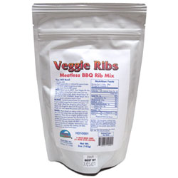 "Veggie BBQ ""Ribs"" Mix by Harvest Direct THUMBNAIL"
