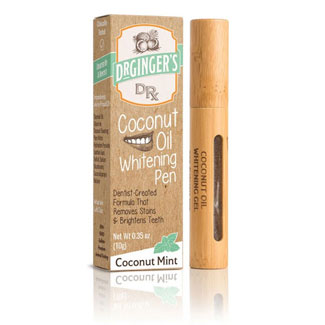 Dr Ginger S Coconut Oil Tooth Whitening Pen Veganessentials