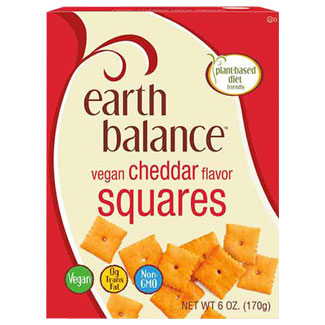 Earth Balance Cheddar Squares MAIN