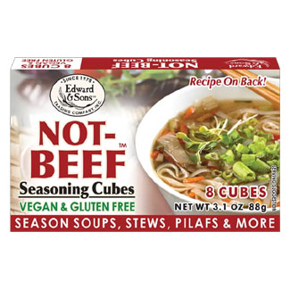 Not-Beef Bouillon Cubes by Edward & Sons MAIN