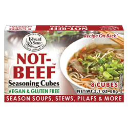 Not-Beef Bouillon Cubes by Edward & Sons THUMBNAIL
