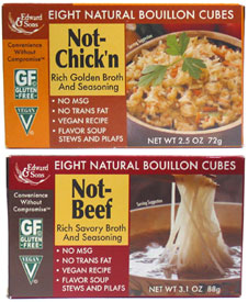 Natural Vegan Bouillon Cubes by Edward & Sons