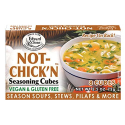 Not-Chick'n Bouillon Cubes by Edward & Sons THUMBNAIL
