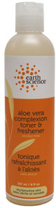 Aloe Vera Complexion Toner and Freshener by Earth Science LARGE