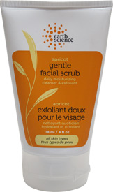 Apricot Gentle Facial Scrub by Earth Science LARGE