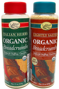 Organic Breadcrumbs by Edward & Sons LARGE