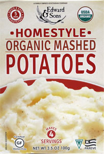 Edward & Sons Organic Instant Mashed Potatoes