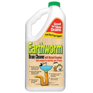 Earthworm Family-Safe 100% Natural Drain Cleaner MAIN