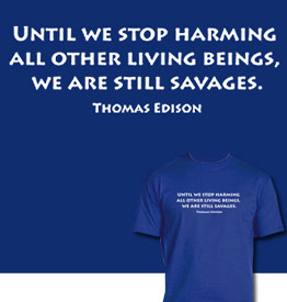 Edison Quote T-Shirt by Animal Rightstuff