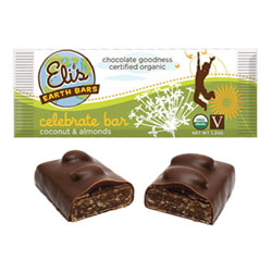 Eli's Earth Bars Organic Candy Bar - Celebrate THUMBNAIL