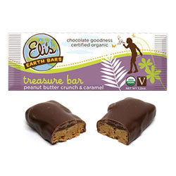 Eli's Earth Bars Organic Candy Bar - Treasure THUMBNAIL