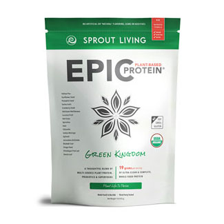 Epic Protein Organic and Raw Protein Powder by Sprout Living - Green Kingdom MAIN