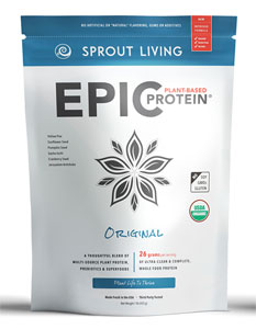 Epic Protein Organic and Raw Protein Powder by Sprout Living - Unflavored_LARGE