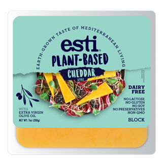 Esti Plant-Based Cheddar Style Cheese Block MAIN
