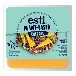 Esti Plant-Based Cheddar Style Cheese Block THUMBNAIL