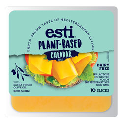 Esti Plant-Based Cheddar Style Cheese Slices THUMBNAIL