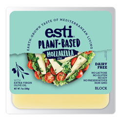 Esti Plant-Based Mozzarella Style Cheese Block THUMBNAIL