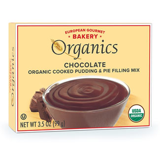 Organic Pudding Mixes by European Gourmet Bakery - Chocolate MAIN