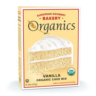 Organic Vanilla Cake Mix by European Gourmet Bakery MAIN