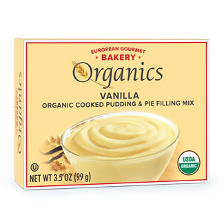 Organic Pudding Mixes by European Gourmet Bakery - Vanilla MAIN