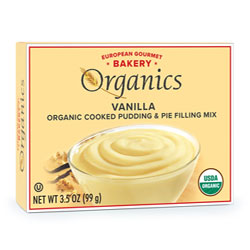Organic Pudding Mixes by European Gourmet Bakery - Vanilla THUMBNAIL
