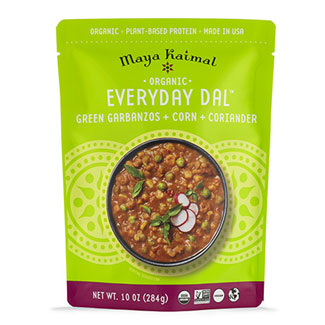 Organic Everyday Dal with Green Garbanzos + Corn + Coriander MAIN
