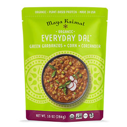 Organic Everyday Dal with Green Garbanzos + Corn + Coriander THUMBNAIL