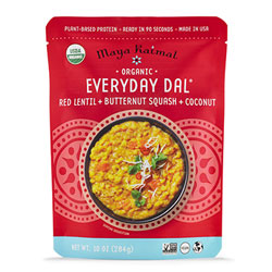 Organic Everyday Dal with Red Lentils + Butternut Squash + Coconut THUMBNAIL