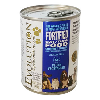 Evolution Diet Canned Vegan Cat Food - Gourmet Entree` MAIN