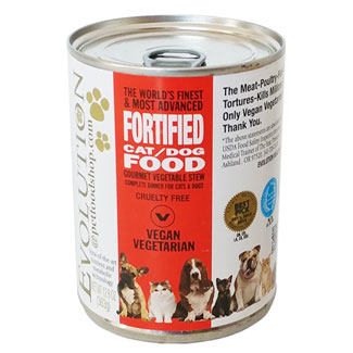 Evolution Diet Canned Vegan Cat Food - Vegetable Stew MAIN