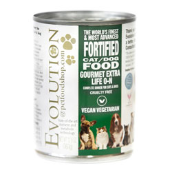 Evolution Diet Gourmet Extra Life Organic Dog Canned Food THUMBNAIL