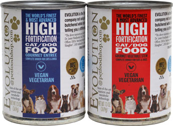 Evolution Diet Canned Vegan Dog Food LARGE