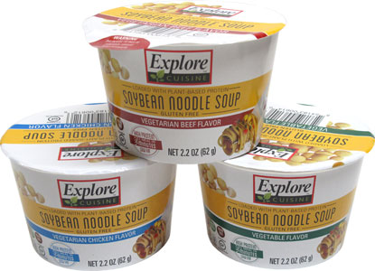 Explore Cuisine Soybean Noodle Soup Cups