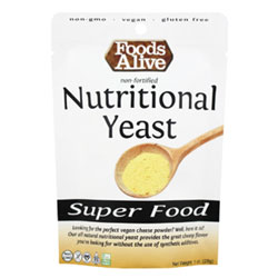 Foods Alive Non-Fortified Nutritional Yeast - 1 oz. Mini Pack THUMBNAIL