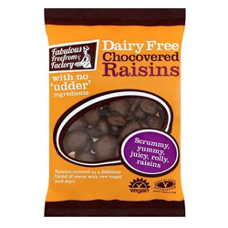 Chocolate Covered Raisins by Fabulous Freefrom Factory THUMBNAIL