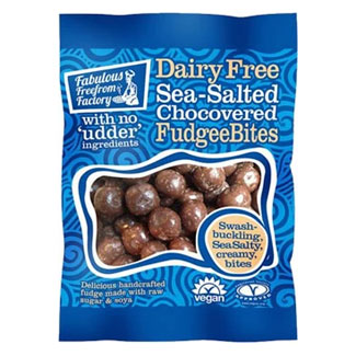 Sea Salted Chocolate Covered Fudgee Bites by Fabulous Freefrom Factory MAIN