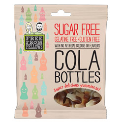 Sugar Free Gummy Cola Bottle Gummies by Free From Fellows THUMBNAIL