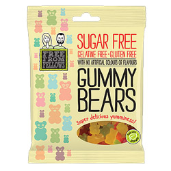Sugar Free Gummy Bears by Free From Fellows THUMBNAIL
