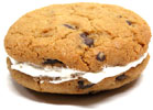 Chocolate Chip Cookie Sandwich by Feel Good Desserts