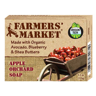 Farmer's Market Organic Bar Soaps - Apple Orchard MAIN