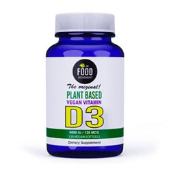 Vegan Vitamin D3 by The Food Movement - 120 softgels THUMBNAIL