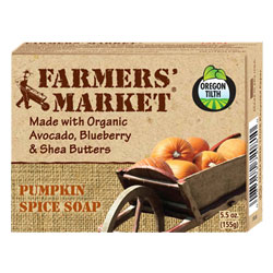Farmer's Market Organic Bar Soap - Pumpkin Spice THUMBNAIL