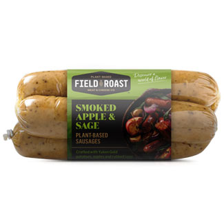Field Roast Sausages - Smoked Apple & Sage MAIN