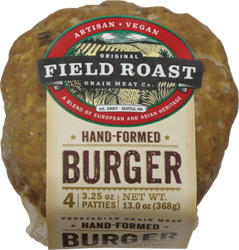 Hand-Formed Burgers by Field Roast