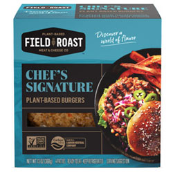 Chef's Signature Plant-Based Burgers by Field Roast THUMBNAIL