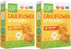 Cheesy Cauliflower Crackers by From the Ground Up